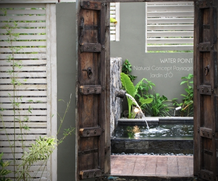NATURAL CONCEPT PAYSAGE - JARDIN D'Ô - WATER POINT - 2014 - ILE DE LA REUNION 1