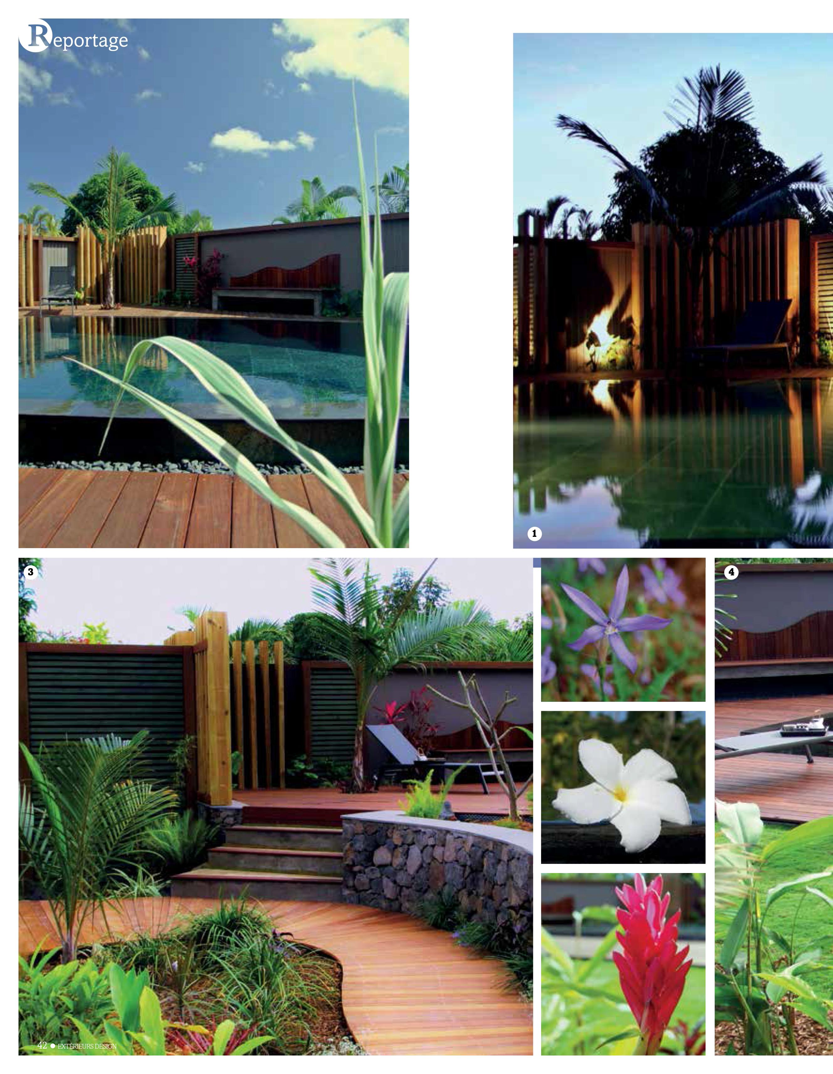 Reportage exterieur design natural concept paysage for Exterieur design jardin